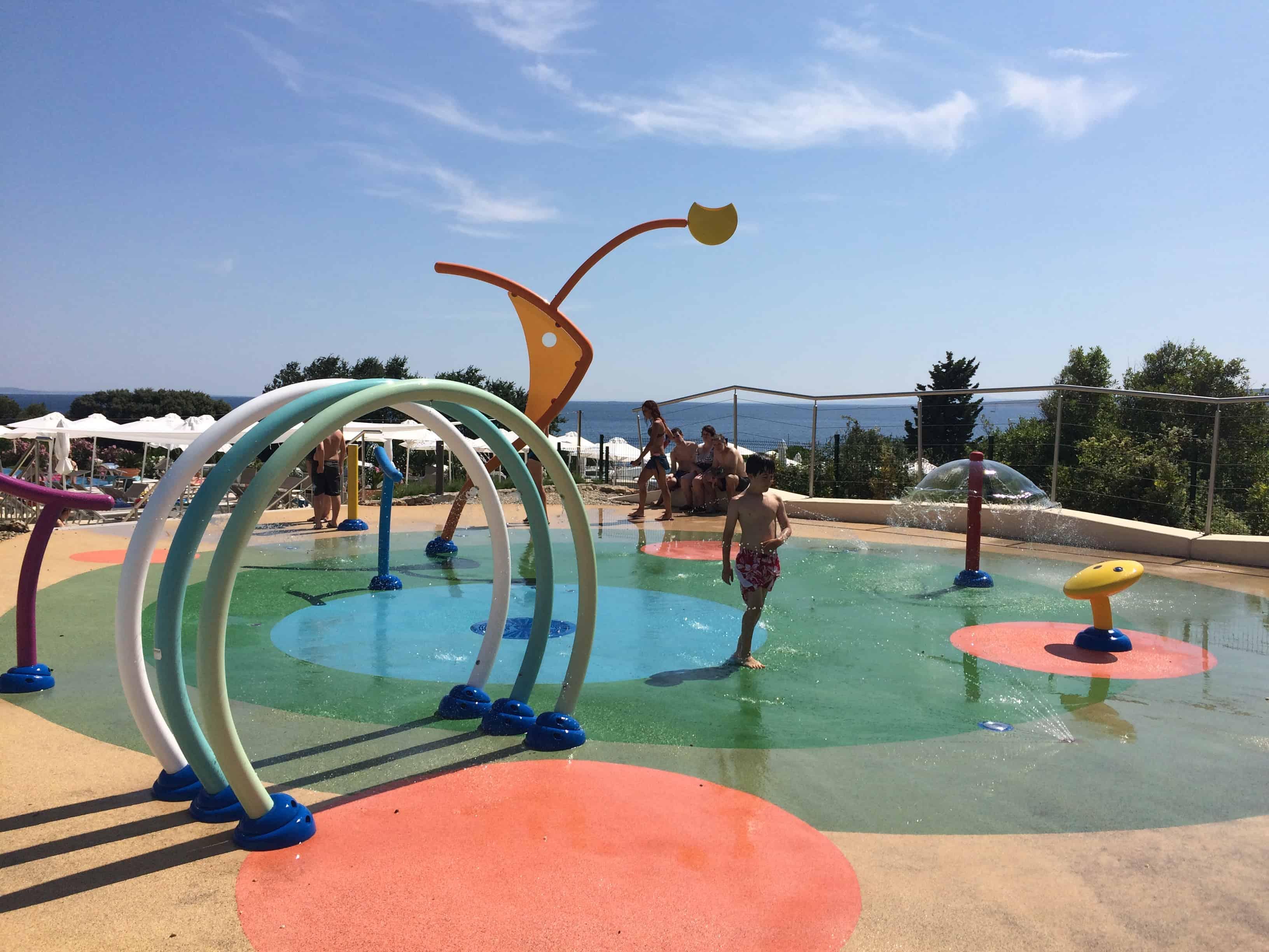 Osvežujoče igrišče Kampa Krk, Hrvaška