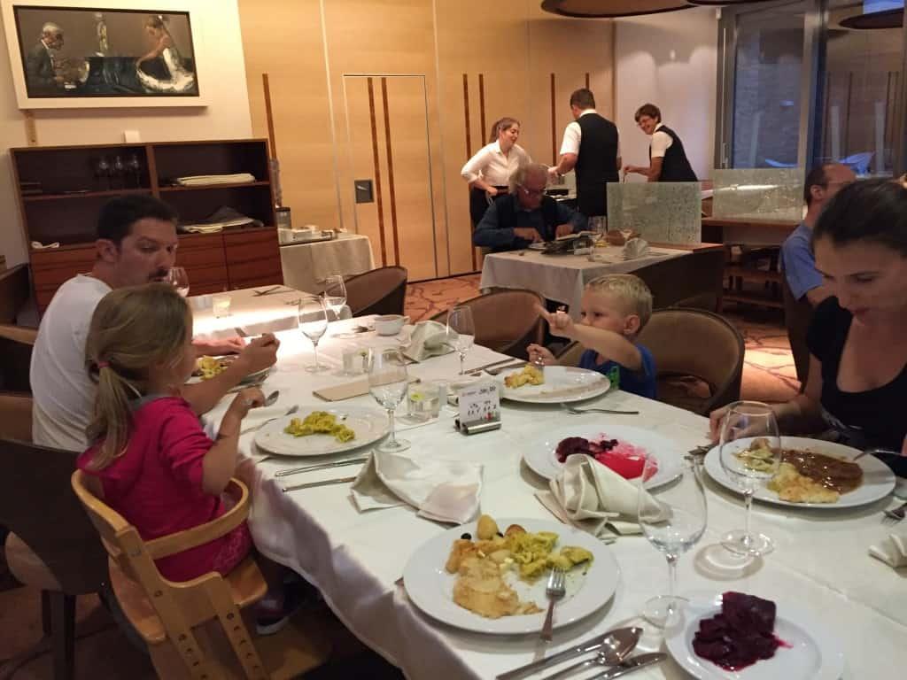 Okusna samopostrežna večerja, Terme Zreče