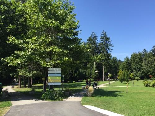 Park s sprehajalnimi potmi, Terme Zreče