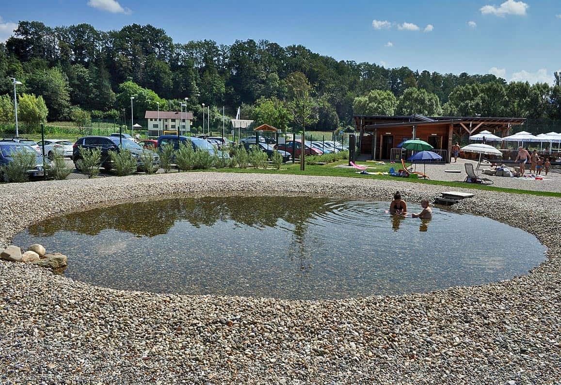 Otroški bazen v parku, Radlje pri Dravi