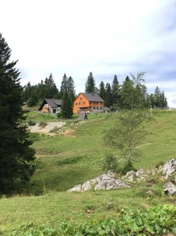 Dom na Menini planina