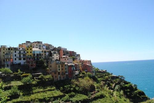 Corniglija je najmanjša izmed vasic (Cinque Terre)
