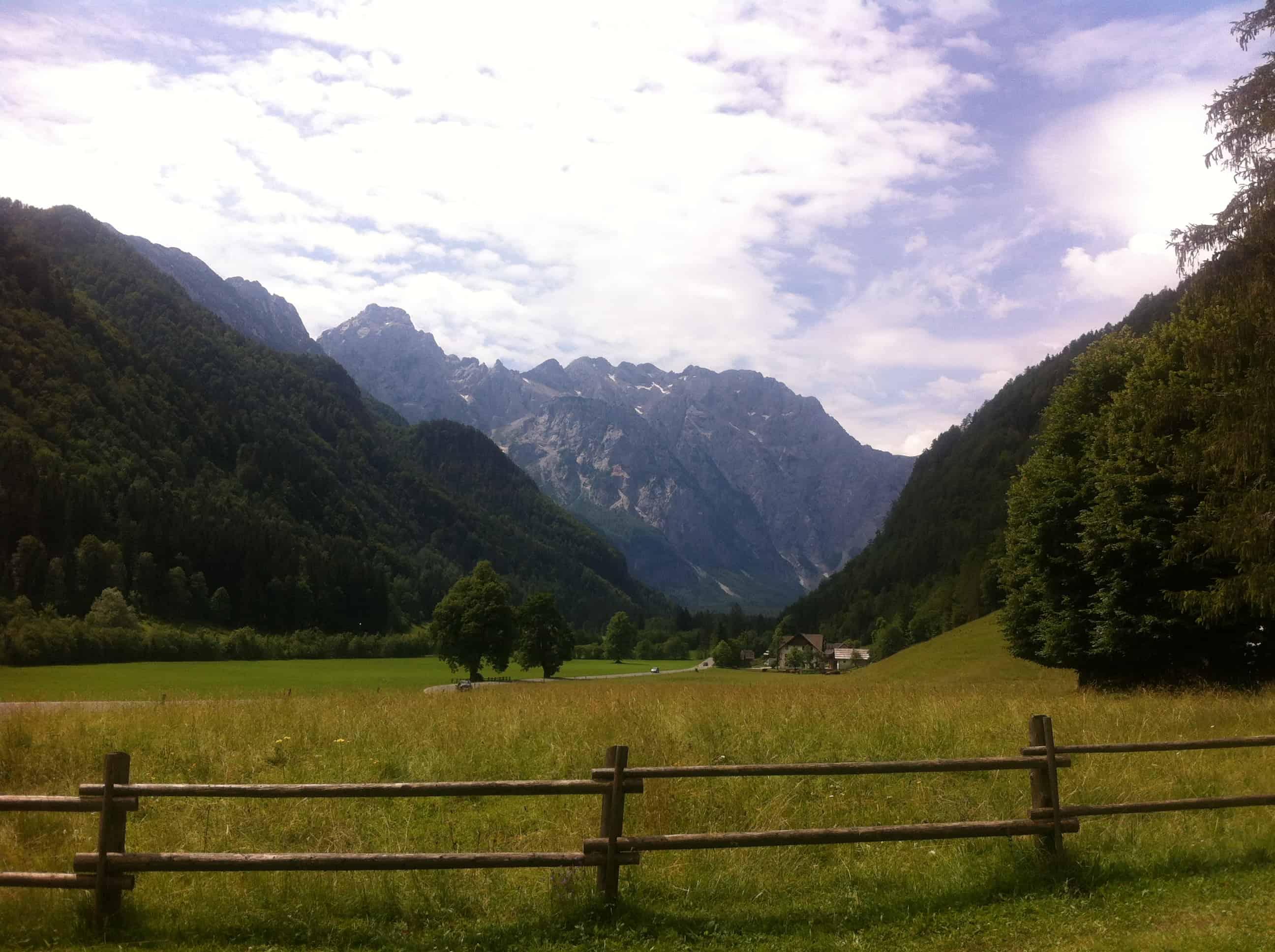 Čudovita Logarska dolina