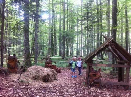 Pravljični gozd, Logarska dolina