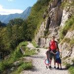 6 razlogov za družinsko vikend odkrivanje Posočja