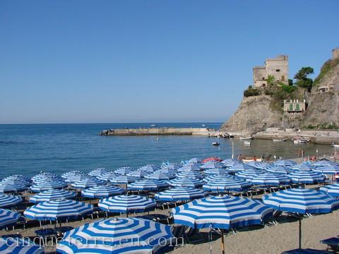 Plaža v Monterosso al mare (foto: