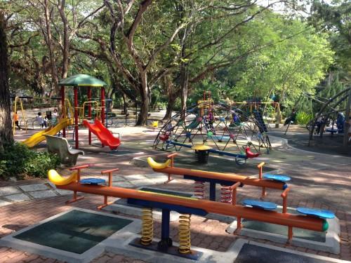 Največje otroško igrišče z bazeni in opicami, Penang, Malezija