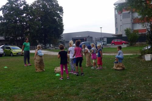 Tekmovanje v teku v vrečah, Ljubljana