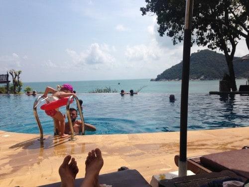 Resort hopping, Ko Phangan