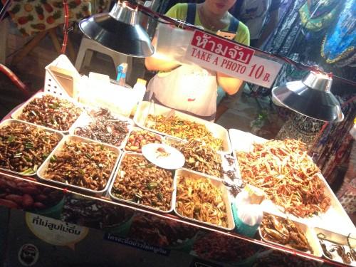 Hrana z ulice, Bangkok