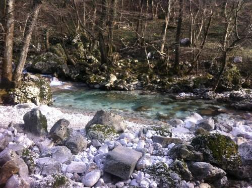 Reka Hubelj velja za eno najčistejših pri nas