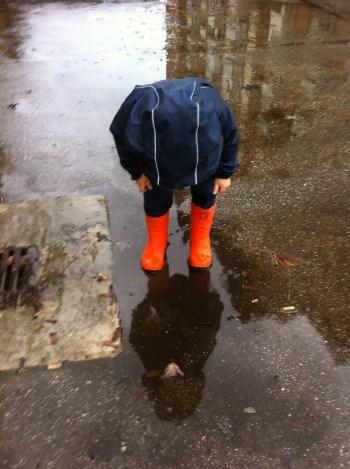 Dež - veselje otrok
