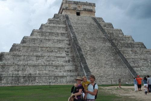 Pred slavno Chichen Itzo, Mehika