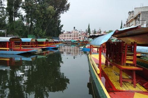 slikoviti in barviti Xochimilco (Mexico City)