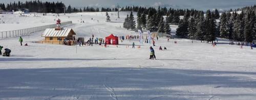 Otroški snežni park na Rogli