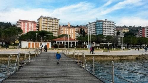 Hoteli Liffeclas se nahajajo v samem centru Portoroža