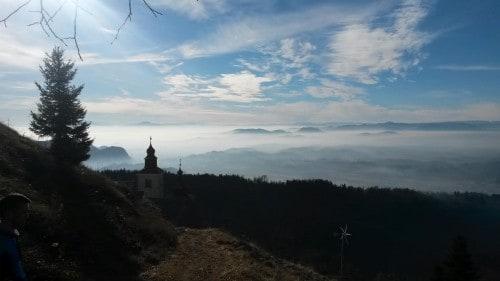 Razgled v dolino (Sv. Primož nad Kamnikom)