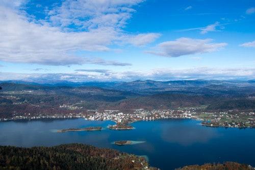 Razgled na Vrbsko jezero, Velden