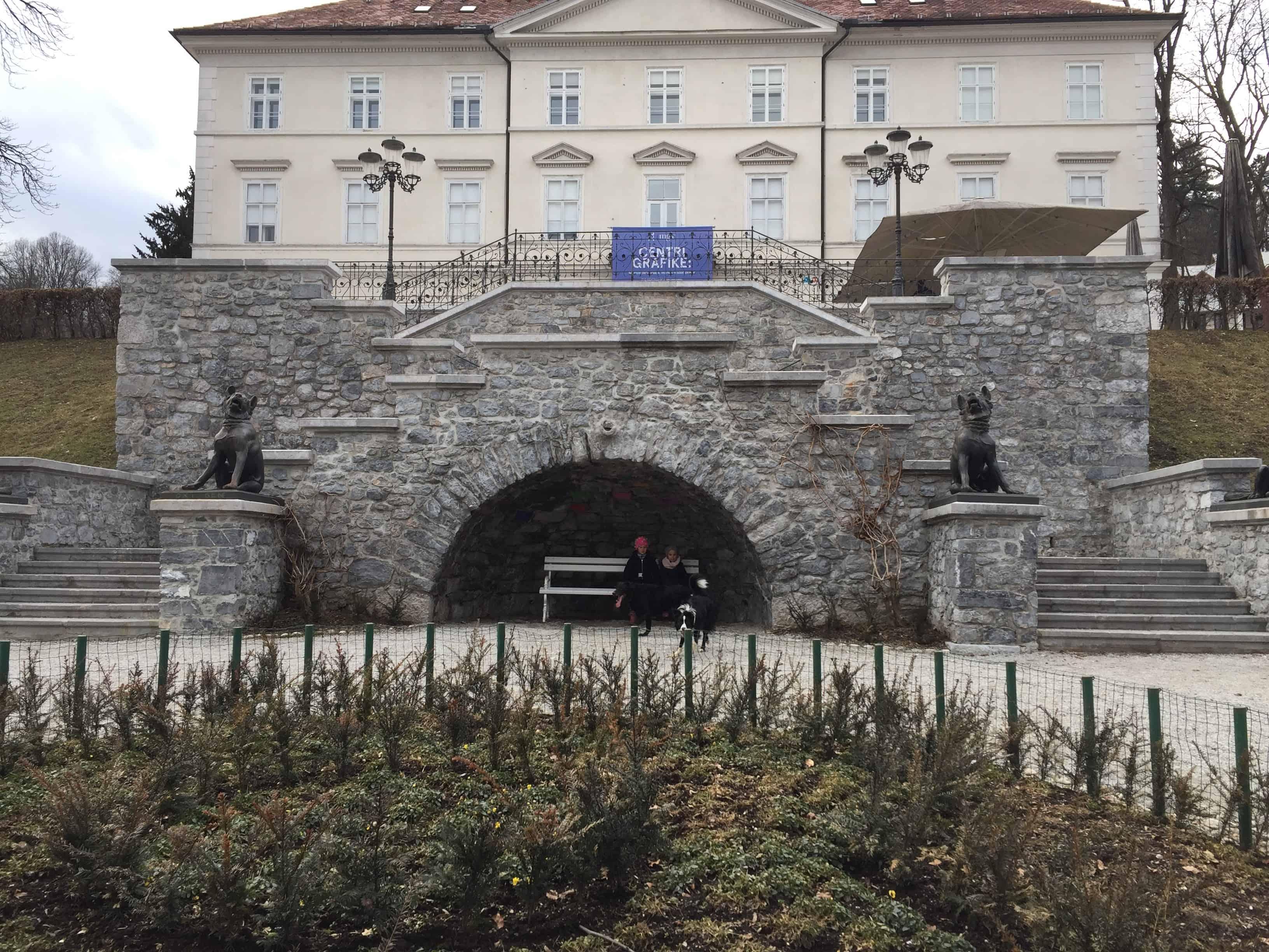 Tivolski grad v parku Tivoli, Ljubljana