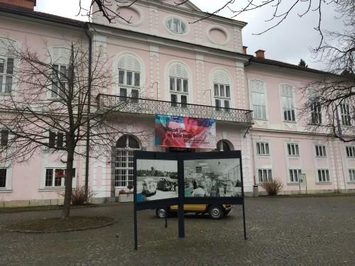 Cekinov grad v ob Hali Tivoli, Ljubljana