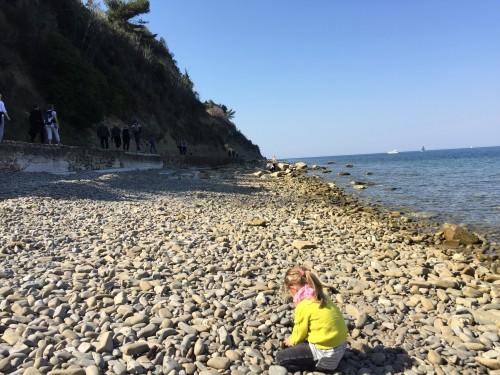 Plaža kot naravno otroško igrišče, Fiesa
