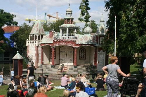 Dogodki za otroke v mestu Hansa Christiana Andersena, Danska
