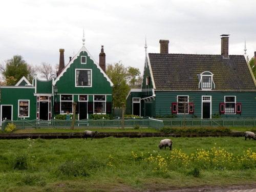 Muzejska vasica Zaanse Schans