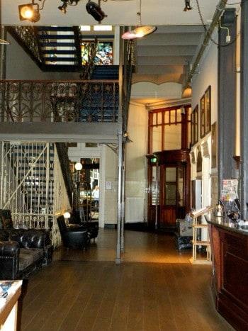 Notranjost hotela, Nizozemska
