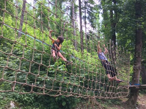 Pustolovski park Postojna je primeren za otroke od 4+