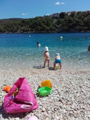 Plaža hotela, Primošten, Hrvaška