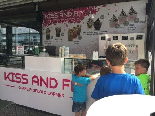 Sladoledni vrt KISS AND FLY