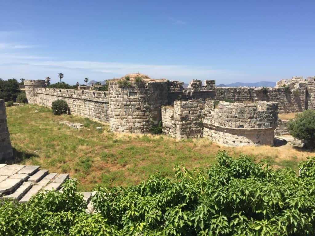 Notranjost Neratzia trdnjave