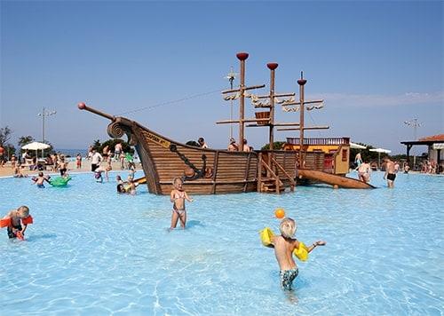 Največja zabava za otroke, Kamping Umag, Hrvaška (vir: www.gebetsroither.com)