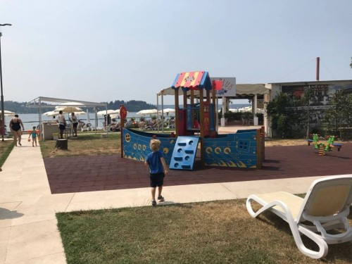 Igrala na hotelski plaži Meduza, LifeClass, Portorož