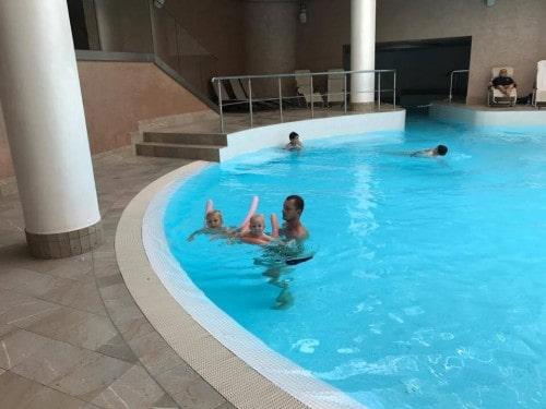 Notranji bazeni z ogrevano morsko vodo, Sea Spa, Portorož