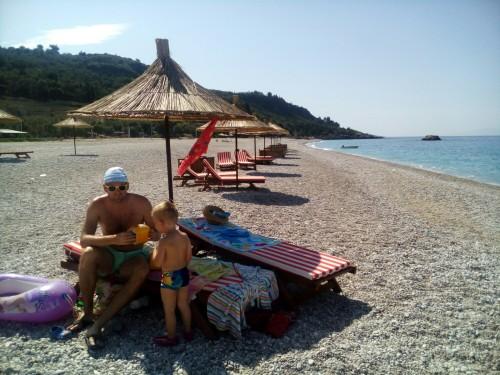 Livachi beach, Albanija