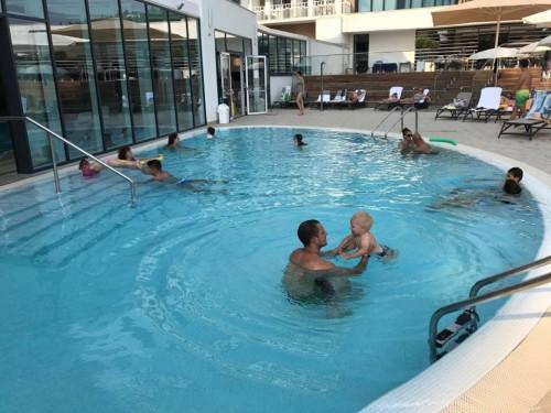 Zunanji bazeni z ogrevano morsko vodo, Sea Spa, LifeClass, Portorož