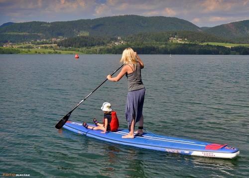 Jezera so super poligon za začetnike na SUPu, Velenjsko jezero