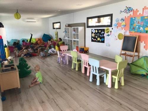 Otroška igralnica v Klubu Šimi, Kamp Šimuni, Pag