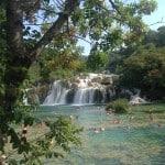Družinski izlet na Slapove Krke, Hrvaška