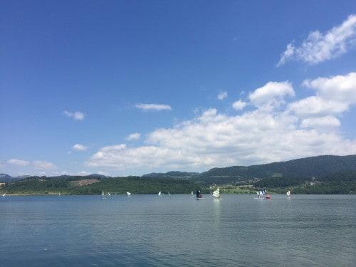 Številne aktivnosti na Velenjskem jezeru