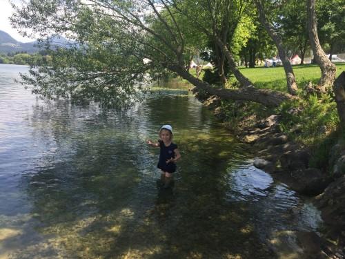 Osvežitev na Velenjskem jezeru