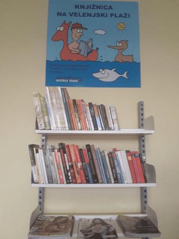Knjižnica na Velenjski plaži