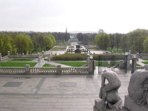 Oslo je znano po čudovitih parkih, kjer lahko mulci brezskrbno tekajo naokrog