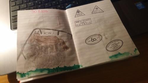 Doma narejena planinska knjižice, Gremo v hribe