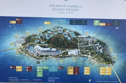 Zemljevid otoka sv. Nikole, Poreč