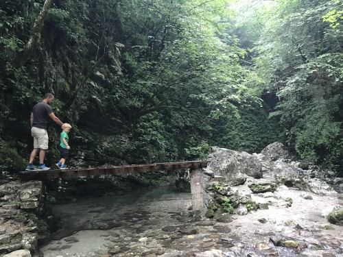 Razgiban dostop do Velikega Kozjaka, Kobarid