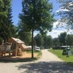 Štirje slovenski kampi, primerni za podaljšan vikend z mulci