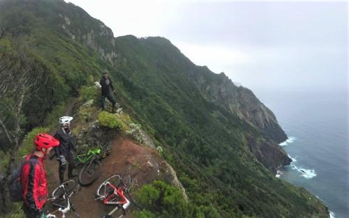 Nori razgledi med turo gorskega kolesarjenja po Madeiri