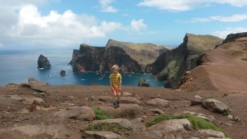 Razgledna točka na Rt sv. Lovrenca, Madeira